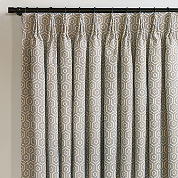 GAVIN SMOKE CURTAIN PANEL