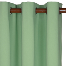 ELI GREEN CURTAIN PANEL