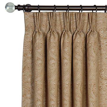 LEINSTER CARAMEL CURTAIN PANEL