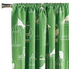 POLLY CLOVER CURTAIN PANEL