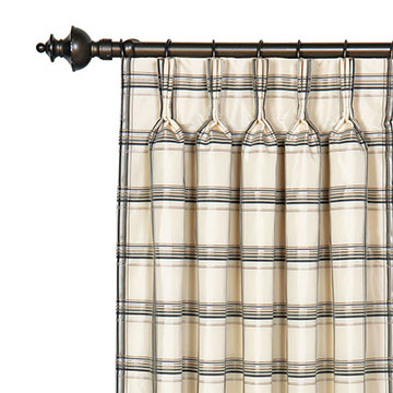 Abernathy Grid Curtain Panel