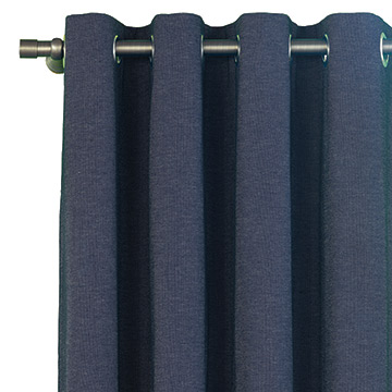 STRAUSS DENIM CURTAIN PANEL