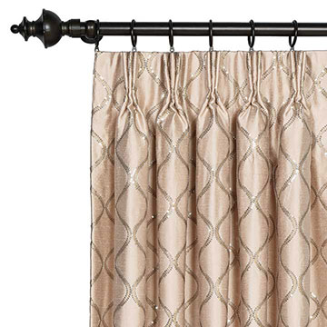 Bardot Bisque Curtain Panel