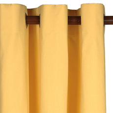 ELI YELLOW CURTAIN PANEL