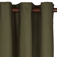 ELI OLIVE CURTAIN PANEL