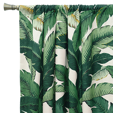 Lanai Palm Curtain Panel