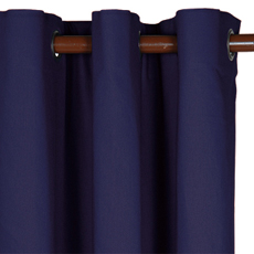 ELI NAVY CURTAIN PANEL
