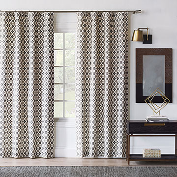 Bale Truffle Curtain Panel