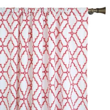 PALOMA TRELLIS CURTAIN PANEL