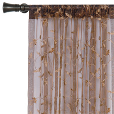 ALEXIA HAZEL CURTAIN PANEL
