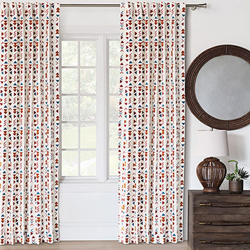 Mackay Embroidered Curtain Panel