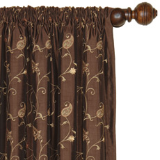 CECILIA CAFE CURTAIN PANEL