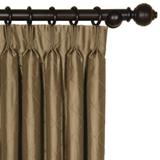 CHESTER KHAKI CURTAIN PANEL