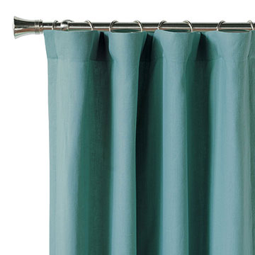 Breeze Aqua Curtain Panel
