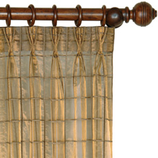 VENETA BRONZE CURTAIN PANEL