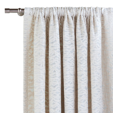 NAOMI ROD POCKET CURTAIN PANEL IN IVORY