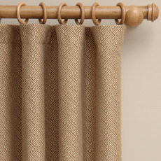 BRAXTON CAMEL CURTAIN PANEL