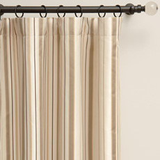 CHAMBERS CREAM CURTAIN PANEL