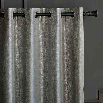 Echo Metallic Curtain Panel