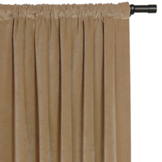 JACKSON GOLD CURTAIN PANEL