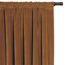 JACKSON RUST CURTAIN PANEL