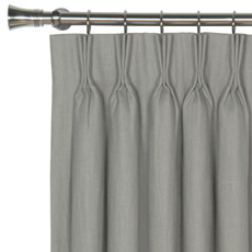 BREEZE SLATE CURTAIN PANEL