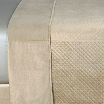 REUSS TAUPE COVERLET
