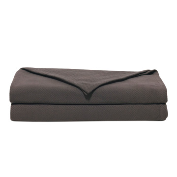 Bozeman Charcoal Coverlet