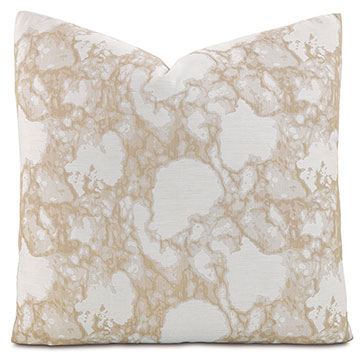 LAGOS SAND SQUARE ACCENT PILLOW