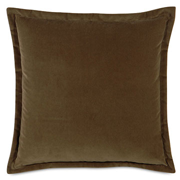 JACKSON MOCHA DEC PILLOW A