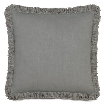 BREEZE SLATE W/BRUSH FRINGE
