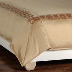 ANTHEMION GOLD/SHIRAZ DUVET COVER and Comforter