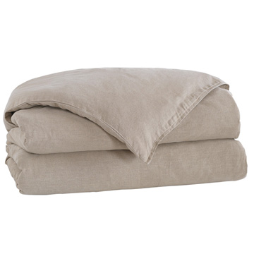 LEONARA NATURAL DUVET COVER and Comforter