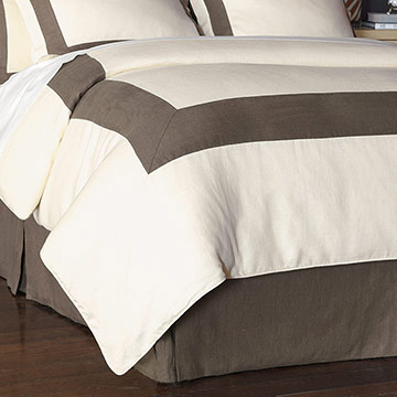 BREEZE PEARL/CLAY DUVET COVER and Comforter