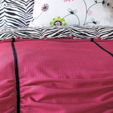ARIS PINK DUVET COVER and Comforter