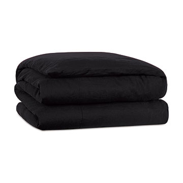 Resort Black Duvet Cover and Comforter