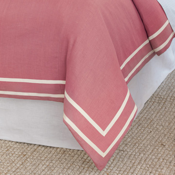 Resort Bloom Fret Duvet Cover and Comforter
