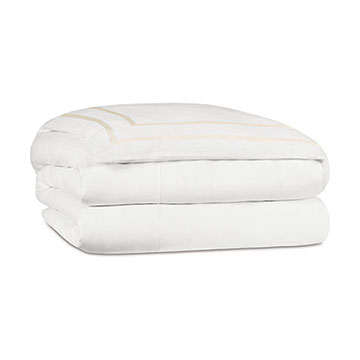 Resort Shell Fret Duvet Cover and Comforter