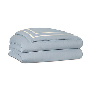 Resort Sky Fretwork Duvet Cover and Comforter