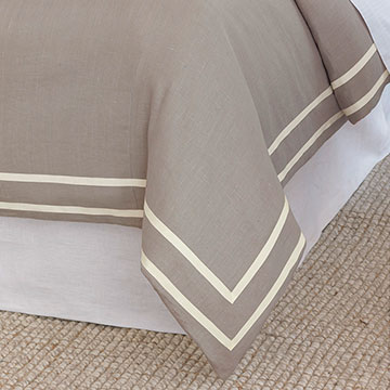 Resort Stone Fret Duvet Cover and Comforter