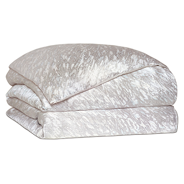 Vionnet Platinum Duvet Cover and Comforter