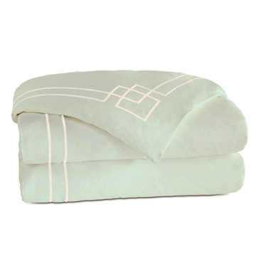GRAFICO ALOE/ECRU DUVET COVER and Comforter