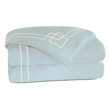 GRAFICO AZURE/ECRU DUVET COVER and Comforter
