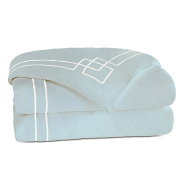 GRAFICO AZURE/WHITE DUVET COVER and Comforter