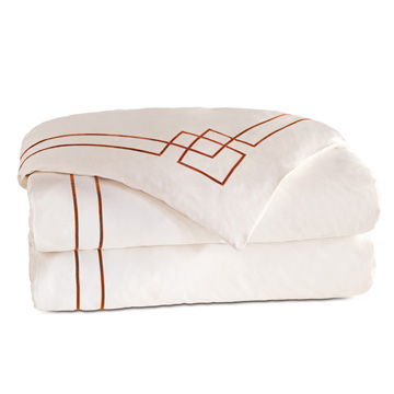GRAFICO IVORY/SHIRAZ DUVET COVER and Comforter