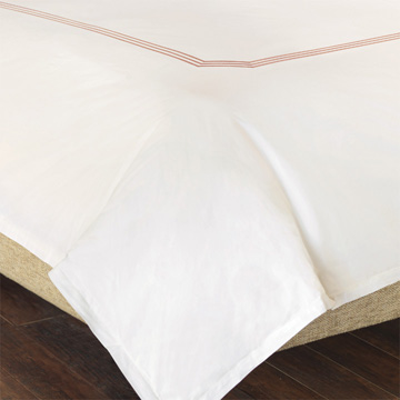 TESSA IVORY/BLUSH DUVET COVER and Comforter
