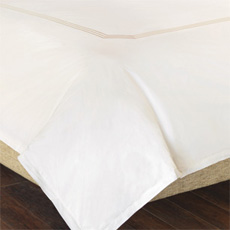 TESSA IVORY/CREME DUVET COVER and Comforter