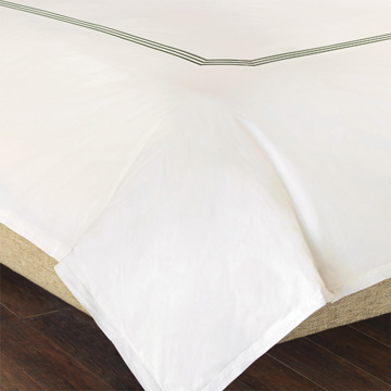 TESSA IVORY/OLIVA DUVET COVER and Comforter