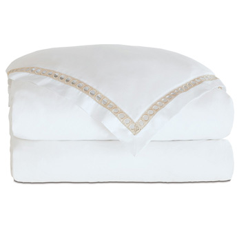 CELINE CHAMPAGNE DUVET COVER and Comforter