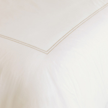 ENZO IVORY/BISQUE DUVET COVER and Comforter